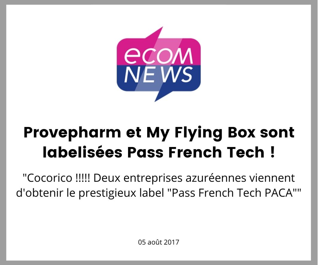 ecomnews et le Pass French Tech my flying box