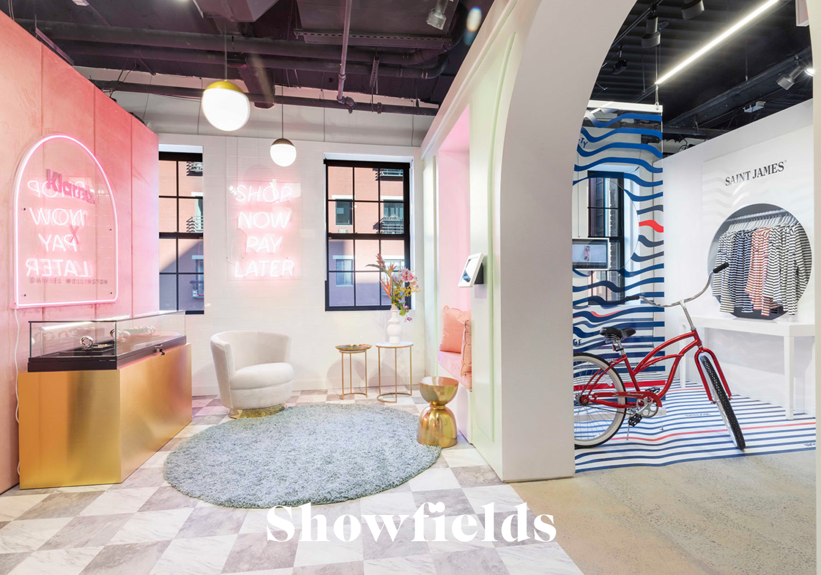Showfields Pop-up Store New York